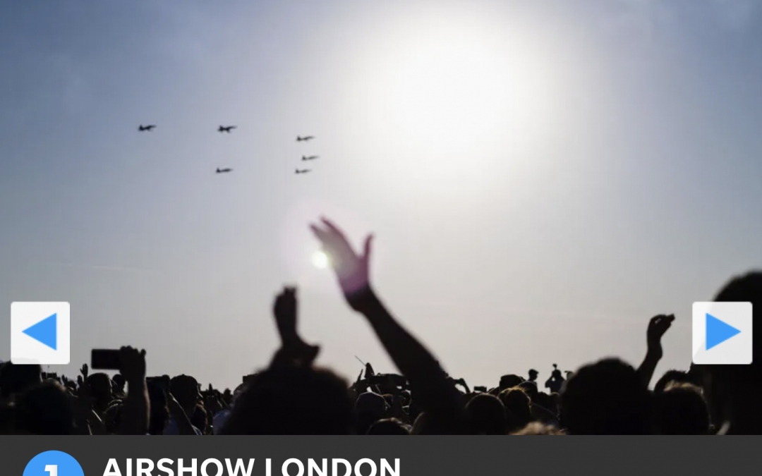 Connect Dot Management Delivers Best Airshow in North America 2020 (Airshow London)