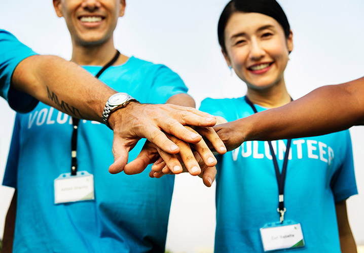 Why you should volunteer; whether you're a student or event professional.